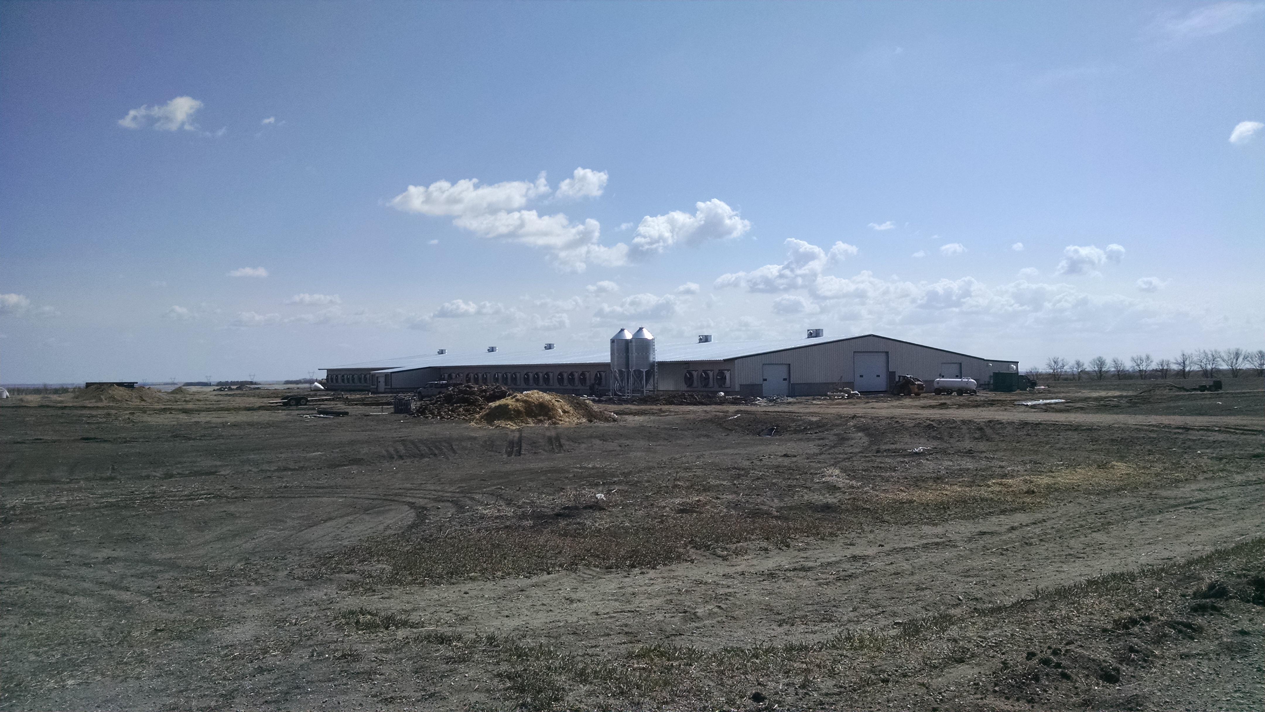 Dairy Facility - Exterior