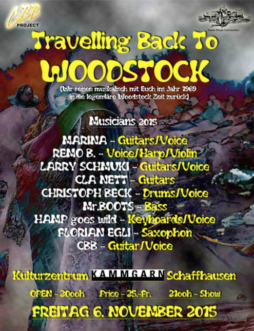 Travelling back to WOODSTOCK