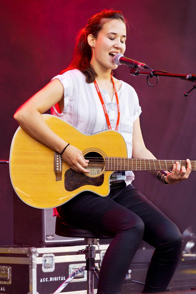 Marina&Guitar @Rockamweier;Dreams coming true!