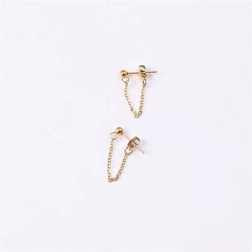 The Ball & Chain earrings