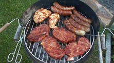 Homemade Meat Feast:  Germany's traditional barbecue