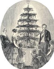 Der Tannenbaum und Baiserringe - Make your own Tree Decorations