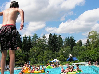 The big outdoor splash:  German Freibad culture is every summer's trend