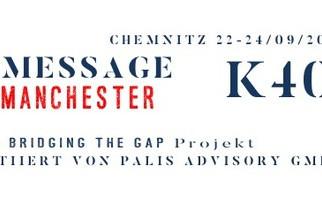 Kunstprojekt: Message from Manchester (Deutsch)
