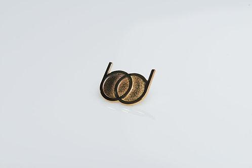 Gold Barber Doll Pin