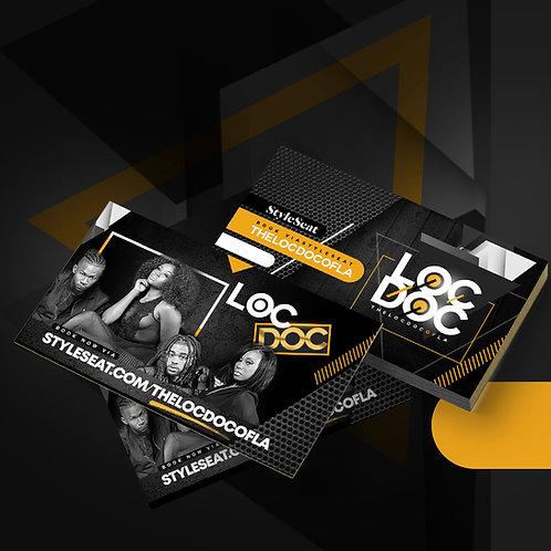 Business Cards (Design + Print)
