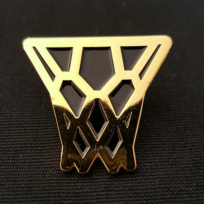 Gold Net Pin Gold Plated