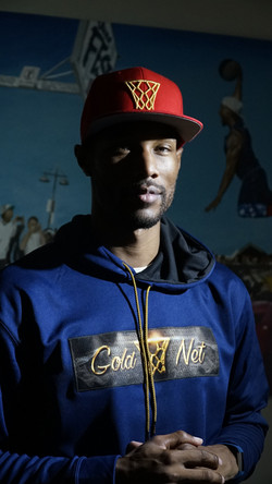 Chris Staples Gold Net Snapback