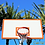 Thumbnail: Double Rim and Palm Trees Basketball Shirt