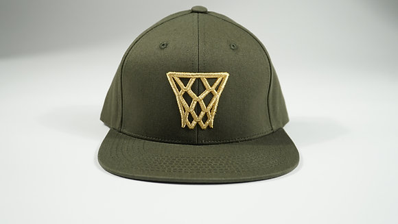 Milwaukee Green Gold Net Snapback