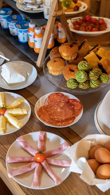 Our tasty Continental Breakfast
