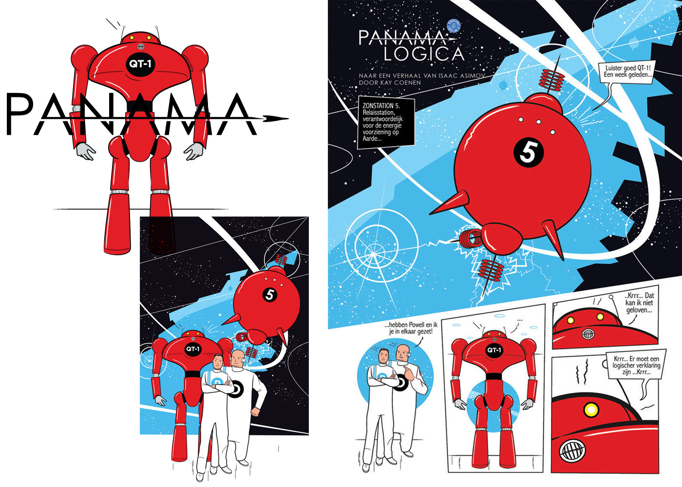 Infographic - PANAMA Comic