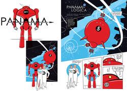 Infographic - PANAMA Comic