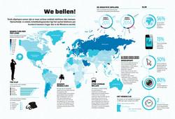 Infographic - Cellphones Worldmap