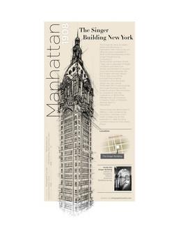 Infographic - Singer Building New York