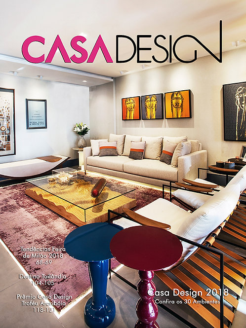Revista Casa Design Niterói 2018 (PDF)