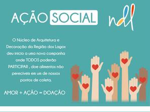 Faça parte da AÇÃO SOCIAL NDL