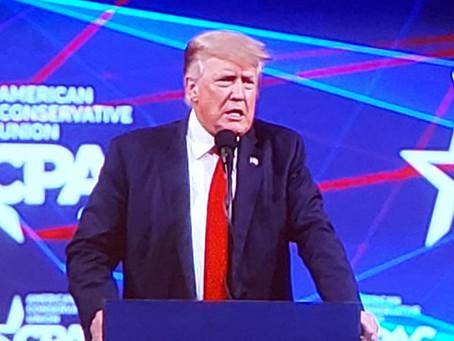 Trump CPAC Finale is YUGE!