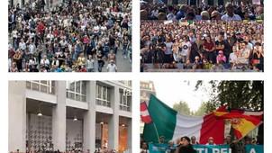PIÙ DI 150.000 A ROMA E MILANO, MIGLIAIA IN TUTTE LE CITTÀ MALGRADO LA REPRESSIONE: È RIVOLUZIONE!