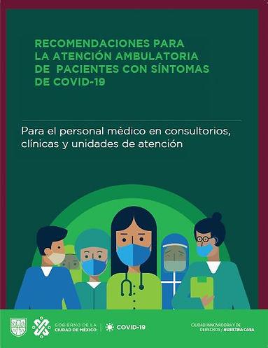 Recomendaciones para la atención ambulatoria de pacientes con sintomas de COVID-19