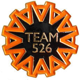 Team 526 Pins - Pack of 10