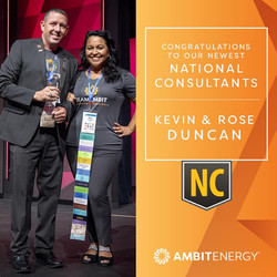 Kevin and Rose Duncan Ambit Energy National Consultants