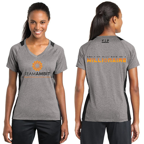 2020 Team Ambit Ladies V-Neck Shirt