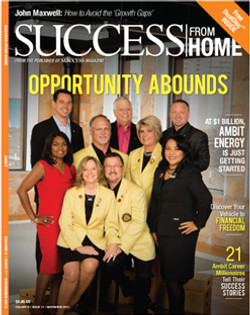 2013 Success From Home Rose Duncan Ambit Energy