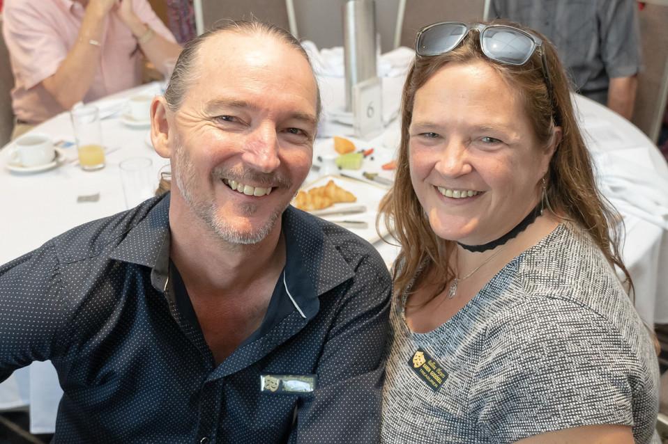 Peter Harding and Karen Goodsell from Ballina Players