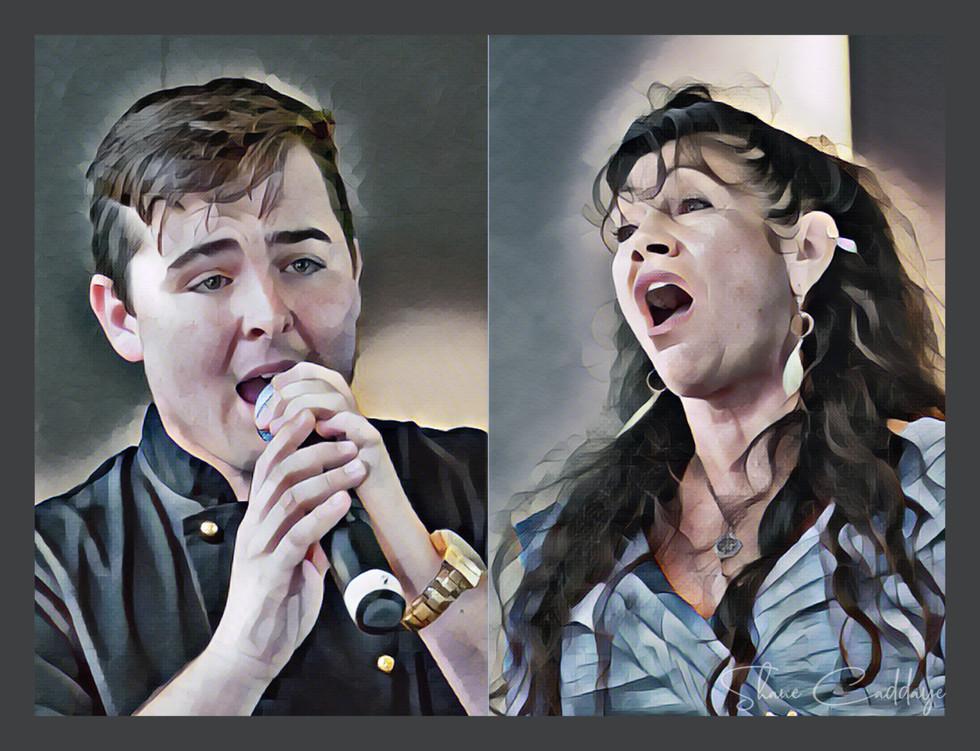 Jack and Deborah singing