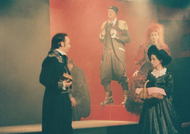Les Mis Phoenix Marius Cosette and Thena