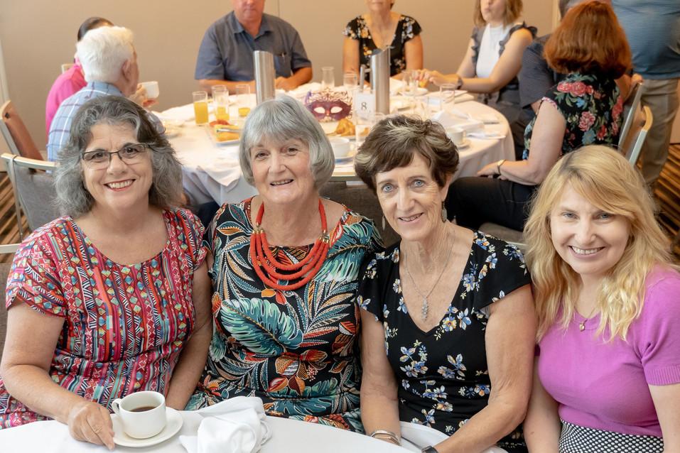 Dianne Robinson, Denise Banner, Bryanne Jardine and karen Kester from Murwillumbah Theatre