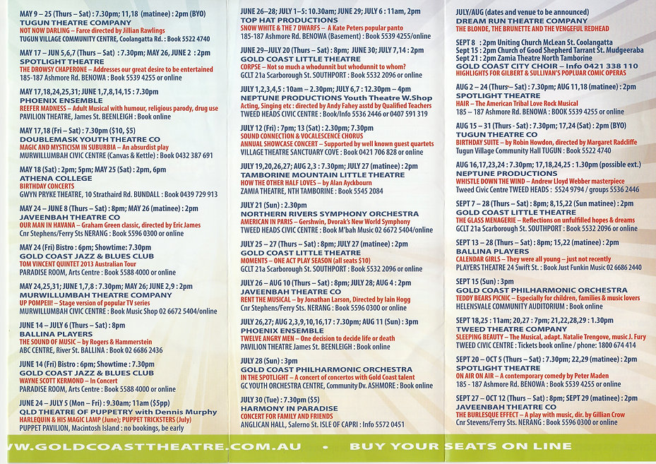 Directory inside May to November 2013 IM