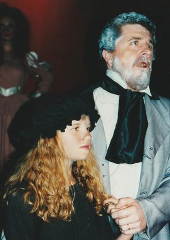 Les Mis Phoenix Val jean and Cosette