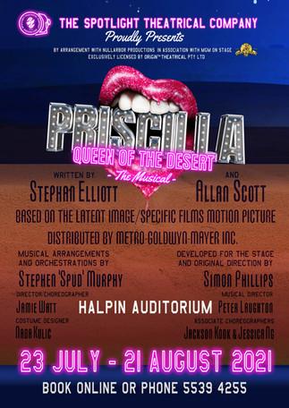 PRISCILLA at Spotlight Theatre