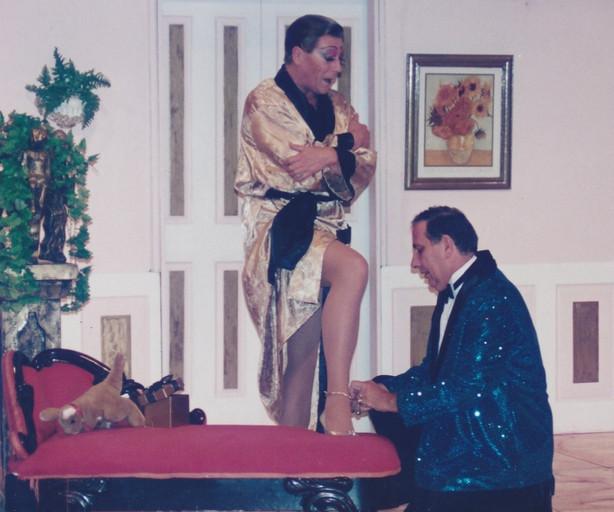 La Cage Tony Alcock and Wal Lotocki