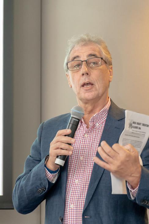 Duncan Sims - President of Spotlight reading citations