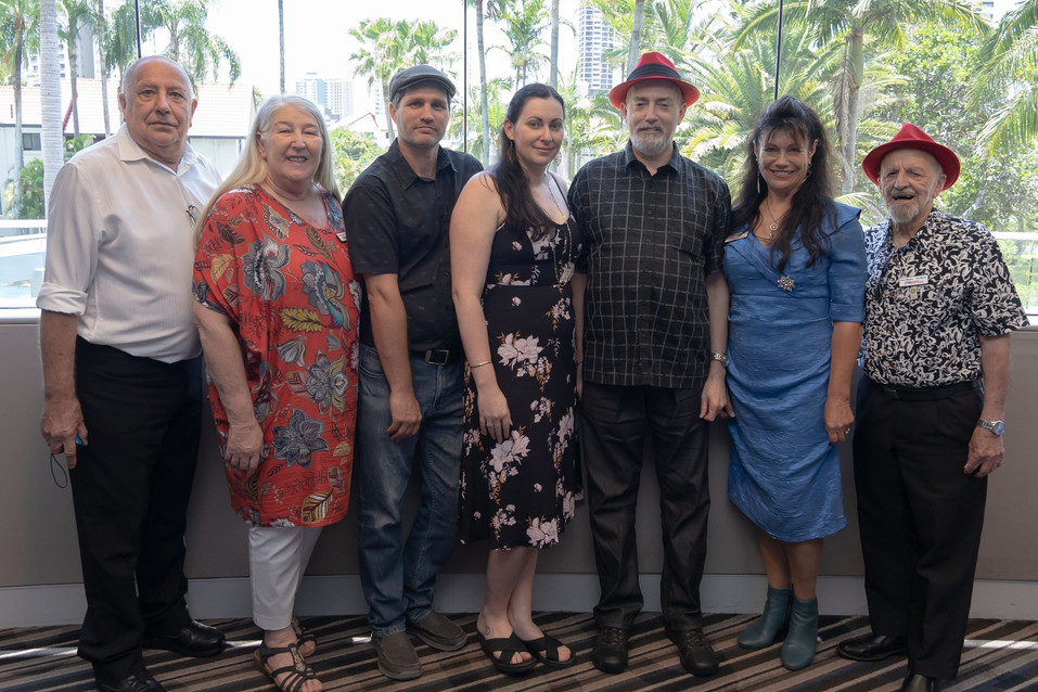 Alliance Executive with Shane - Red Hat Awardee