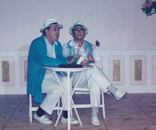 La Cage Wal Lotocki & Tony Alcock