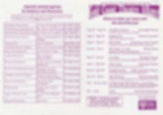 Directory shows 1997 Our first directory