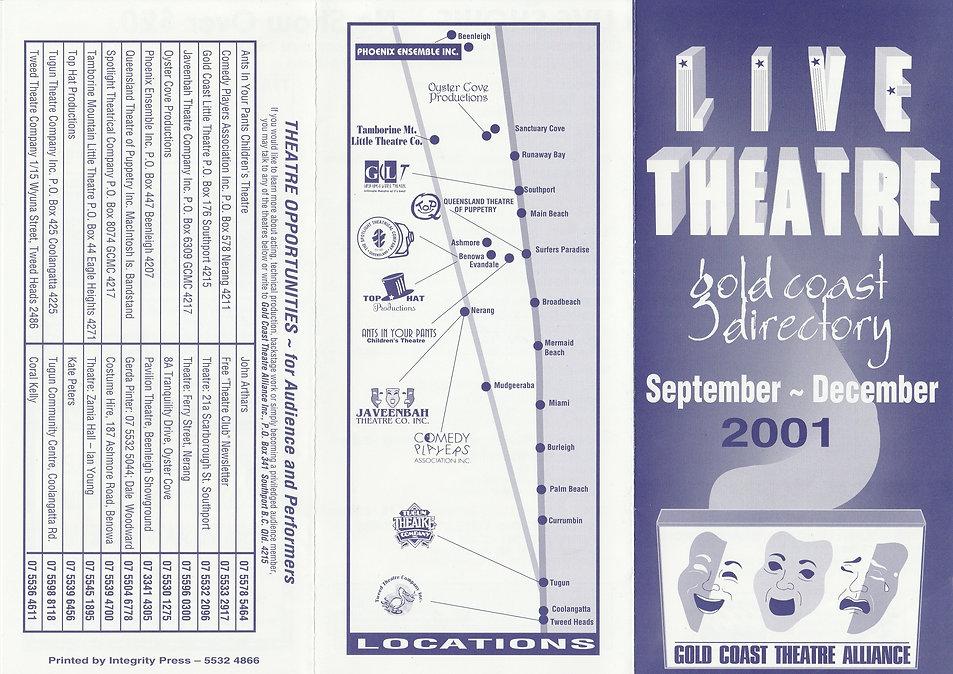 Directpry Cover September December 2001