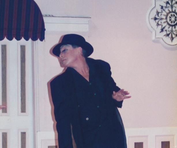 Tony Alcock as Albin