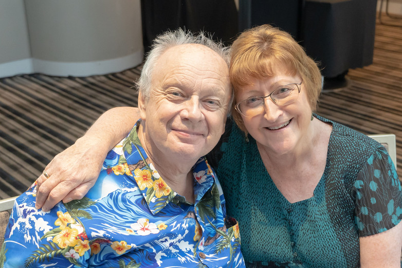 - Alliance Patron and his wife Joan