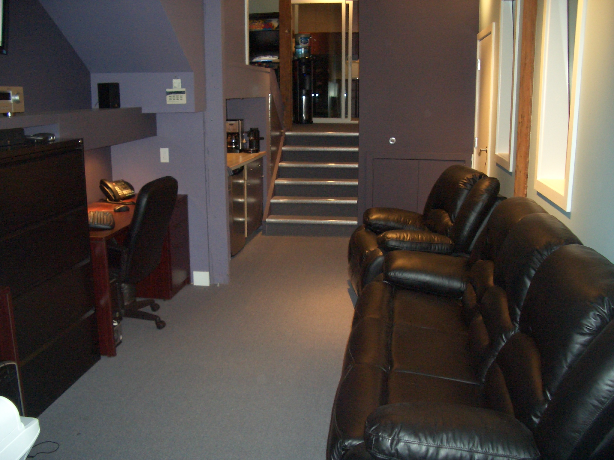 Office for Studio, Talent Management,Label & After Hours Lounge