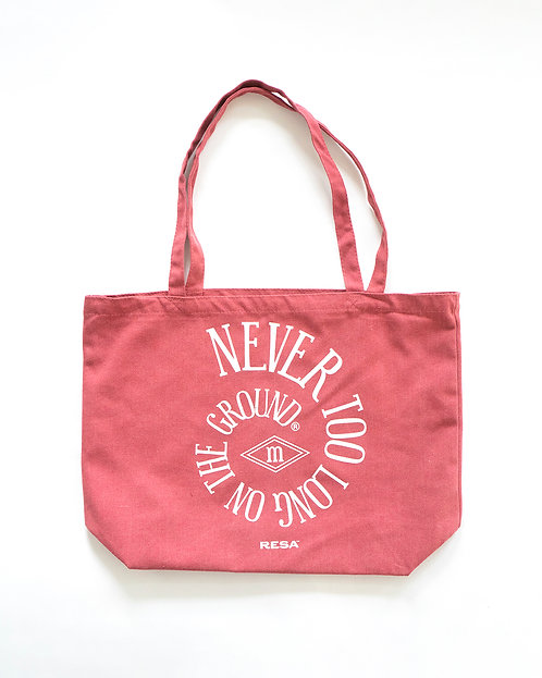 The Spiral Tote in Coral