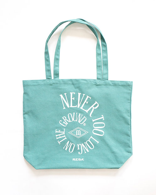 The Spiral Tote in Menthe