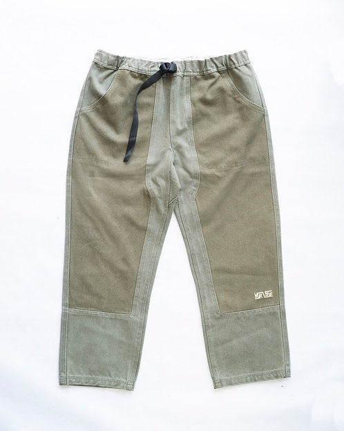 Wallace Pant - Olive Drab Cotton Canvas