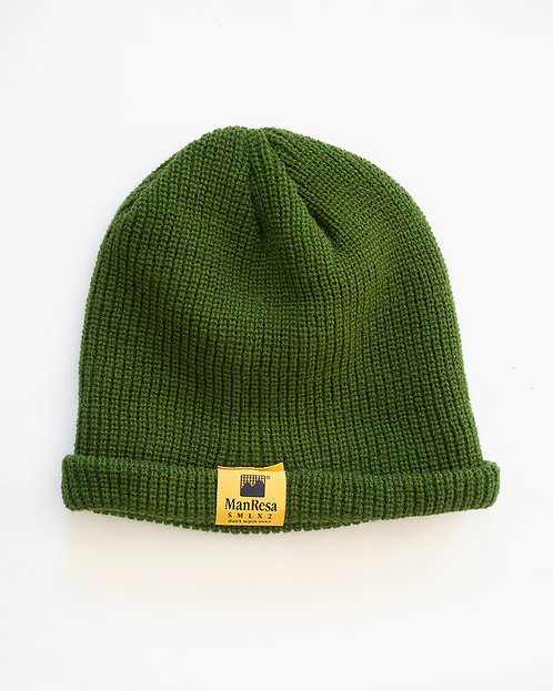 The Slouch Beanie in Army