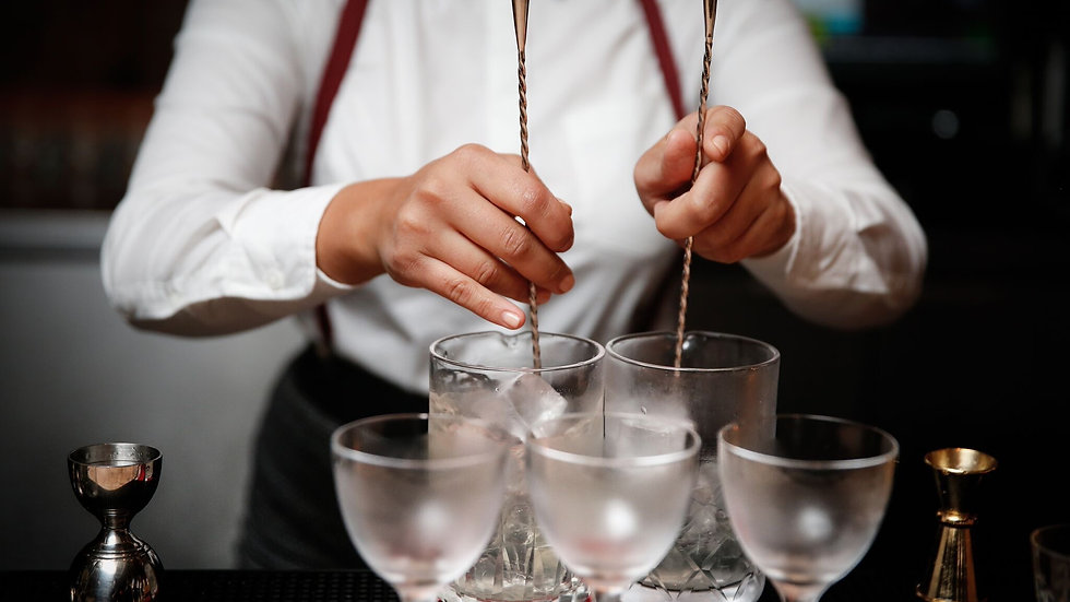 Project Bartender - One on One Workshop