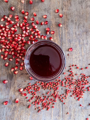 POMEGRANATE PINK PEPPERCORN SYRUP